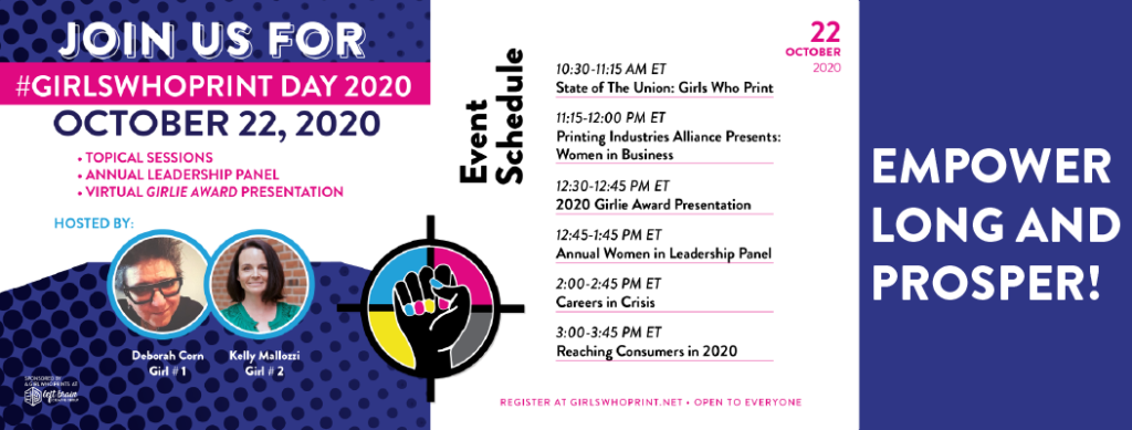 women in printing event